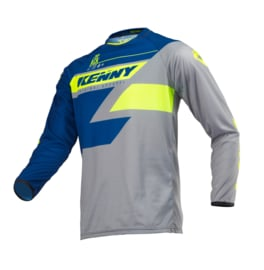 Kenny Track Jersey Youth Navy Lime 2019