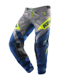 Kenny Track Pant Youth Navy Lime 2019