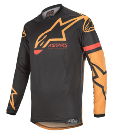 Alpinestars Racer Tech Compass Jersey Black Orange 2020