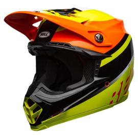 Bell Moto-9 Mips Prophecy Gloss Yellow/Orange/Black
