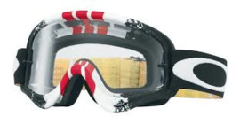 Oakley O-Frame pinned race Red/Yellow w/clear