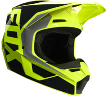 Fox V1 Prix Helmet Black Yellow 2020