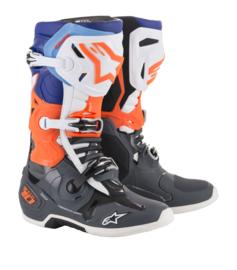 Alpinestars Tech 10 Boots Cool Gray Orange