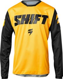 Shift White label Youth Jersey Ninety Seven Yellow