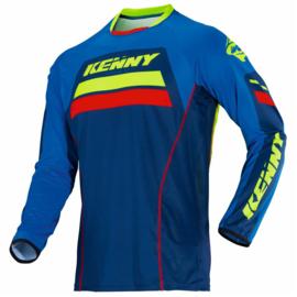 Kenny Titanium Jersey Cyaan 2018