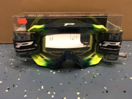 Progrip Navy Yellow 3200 Roll-Off Goggle XL Clear