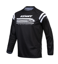 Kenny Track Raw Jersey Kids Black 2021