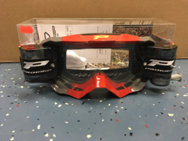 Progrip Red Grey 3200 Roll-Off Goggle XL Clear