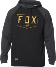 Fox Shield Raglan po Fleece Black
