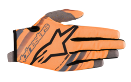 Alpinestars Youth Radar Gloves Orange Fluo Black 2019