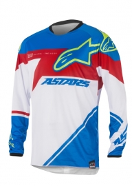 Alpinestars Racer Supermatic Jersey Blue Red
