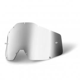 100% Tear Off lens Mirror Silver