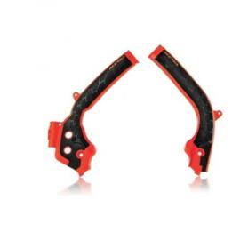 Acerbis X-Grip Framebeschermer SX/SX-F 16-18 EXC/EXC-F 17-19 FC/TC 16-18 FE/TE 16-19 Oranje Zwart