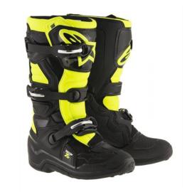 Alpinestars Tech 7S Boots Zwart Fluor Geel