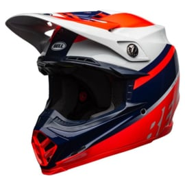 Bell Moto-9 Mips Prophecy Gloss infrared/Navy/Gray