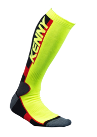 Kenny Mx Tech Socks Fluo Yellow