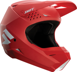Shift Helm White Label Red