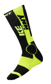 Kenny Mx Tech Socks Black Fluo Yellow