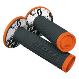 Scott Dual Layer SX II Grip Black/Orange
