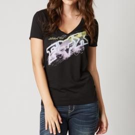Fox Dusty 2 V-neck Black T-shirt