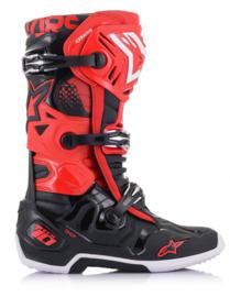 Alpinestars Tech 10 Boots Red Black