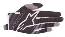 Alpinestars Youth Radar Gloves Black Mid Gray 2019