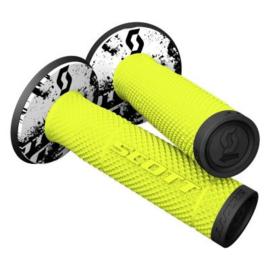 Scott Dual Layer SX II Grip Yellow