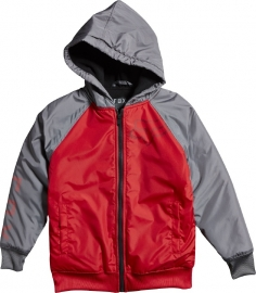 Fox Contra Zip Fleece Jacket Red Youth
