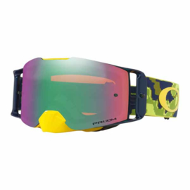 Oakley Frontline Thermo Camo Green Yellow Prizm Mx Jade Iridium Lens
