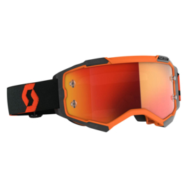 Scott Fury Orange/Black W/ Orange Chrome