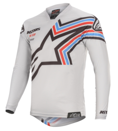 Alpinestars Racer Braap Light Gray Black 2020