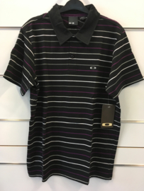 Oakley Thin Stripe Black Polo