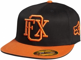 Fox Drew-Hef-Burn 210 Fitted Flexifit Orange Cap 7 1/4