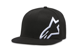 Alpinestars Corp Snap Hat Black White