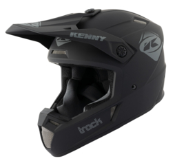 Kenny Track Helm Solid Black 2021