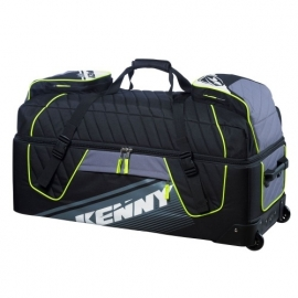 Kenny Sac Trolley Black Grey Yellow