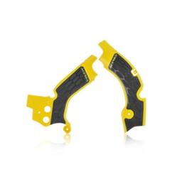 Acerbis X-Grip Framebeschermer RMZ250 15-18 Geel Zwart