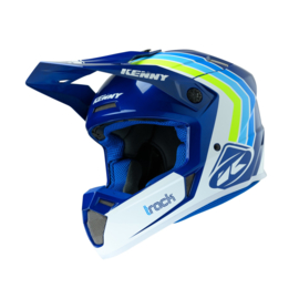 Kenny Track Helm Victory White Blue 2020
