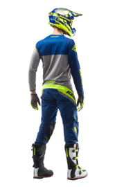 Kenny Track Pant Navy Lime 2019