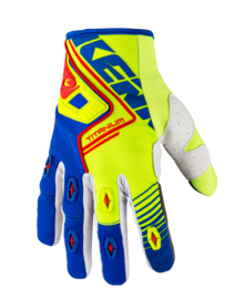 Kenny Titanium Glove Blue Lime 2018