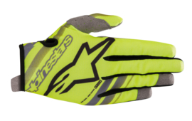 Alpinestars Youth Radar Gloves Yellow Fluo Black 2019