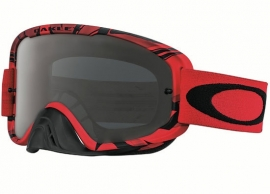 Oakley O2 Mx Intimidator Blood Red w/Dark Grey Lens