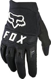 Fox Dirtpaw Glove Black White Youth 2022