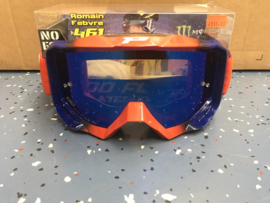 Progrip 3200 Goggle Red Blue Mirror Blue Lens