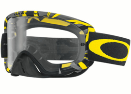 Oakley O2 Mx Intimidator  Gunmetal Yellow w/clear Lens