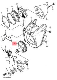 Filterslang YZ250F/WR250F/WR450F 03-04 YZ450F 03