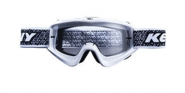 Kenny Track Goggle White w Clear Lens