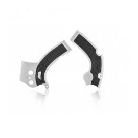 Acerbis X-Grip Framebeschermer YZF250 17-18 YZF450 16-17 Wit Zwart
