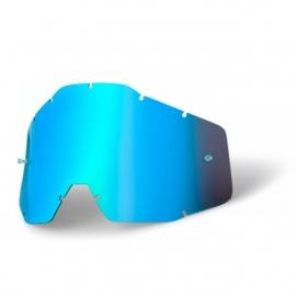 100% Tear Off lens Mirror Blue