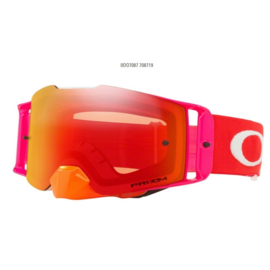 Oakley Frontline Pinned Race Orange Red Prizm Mx Torch Iridium Lens